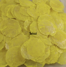 Capiz dia shells Yellow (15-20 pieces)