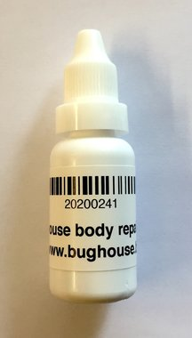 Bughouse insect body repair glue