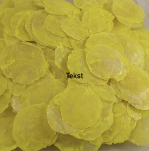 Capiz dia shells Yellow (15-20 pieces)